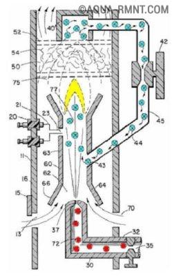 Горелка водородная