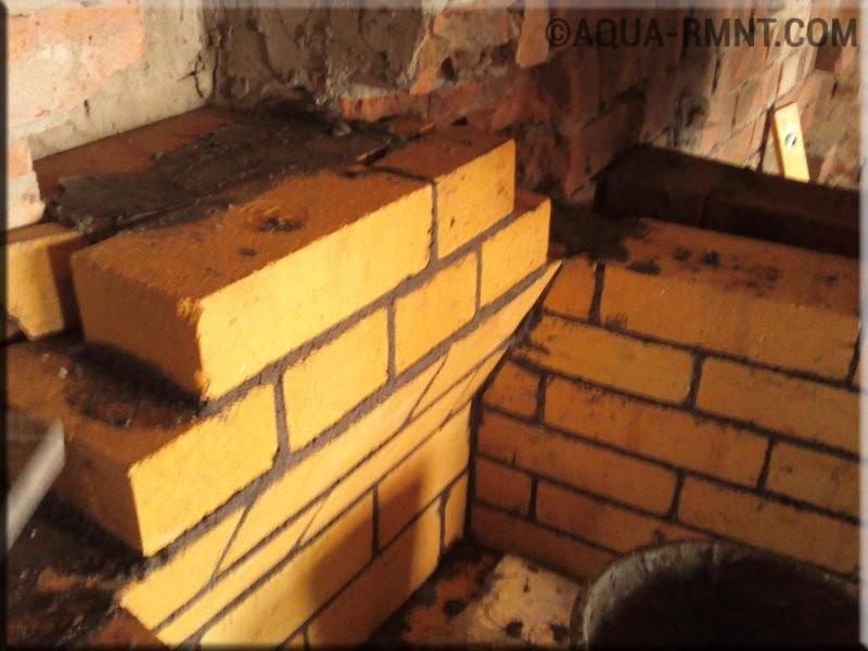 Камина своими руками кладка за кладкой 679