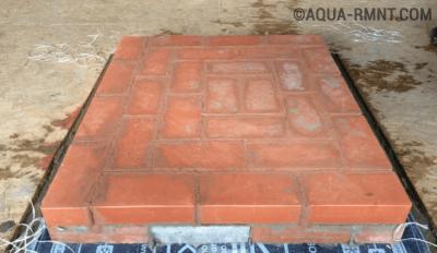 Строительство печи — ряд первый
