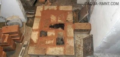 Строительство печи — ряд 2