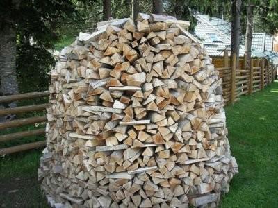 Стог из дров