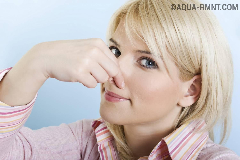 Откуда может идти неприятный запах в санузле