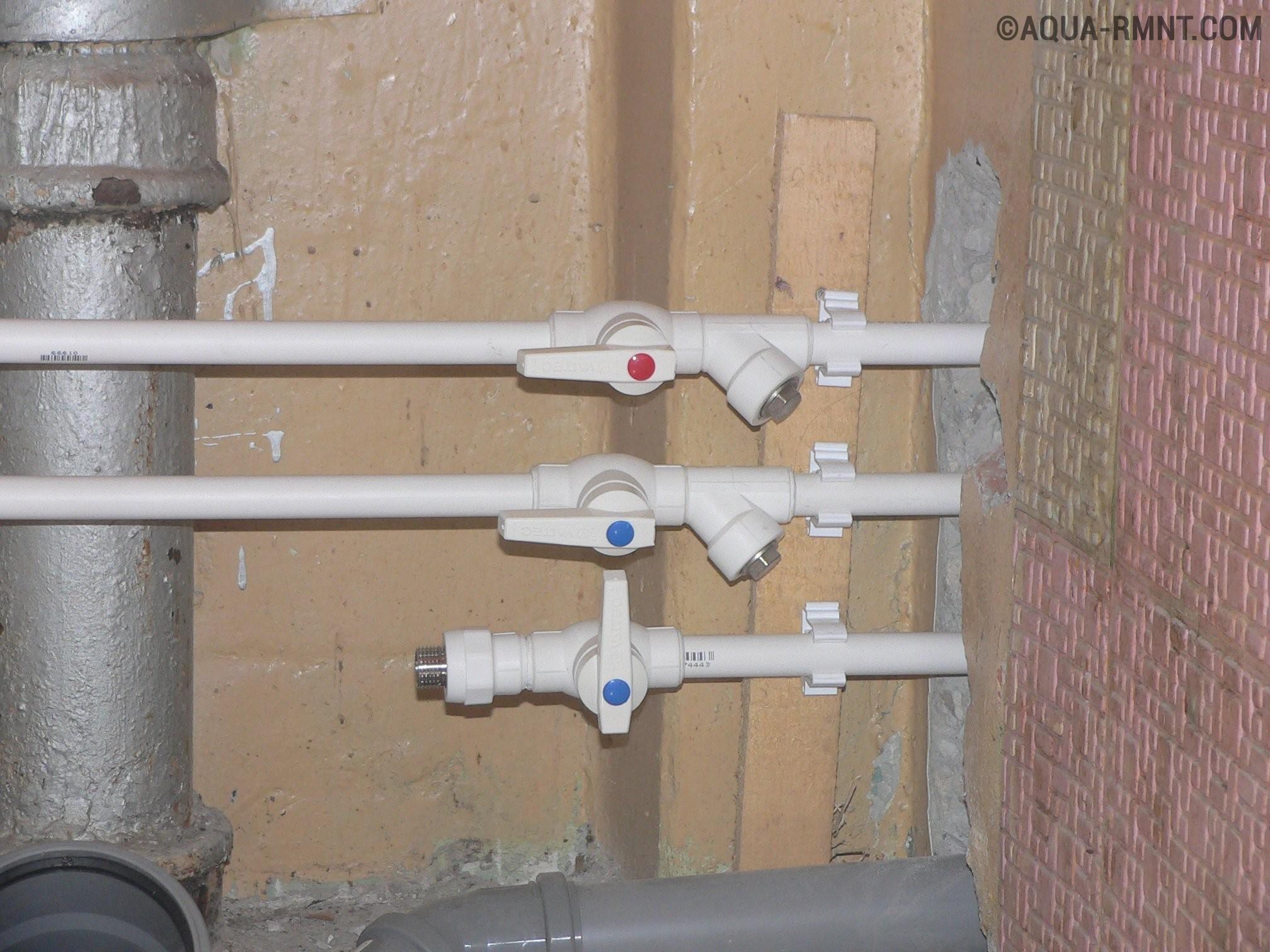 Как узнать диаметр запорного вентиля