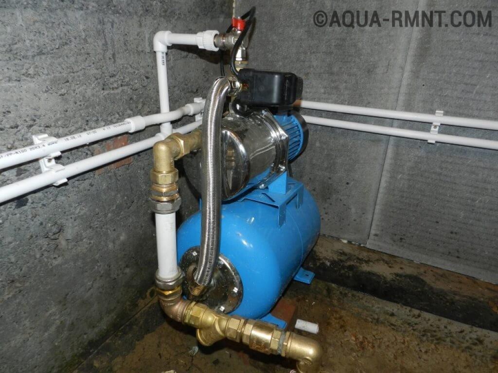 Насосная станция водоснабжения своими руками