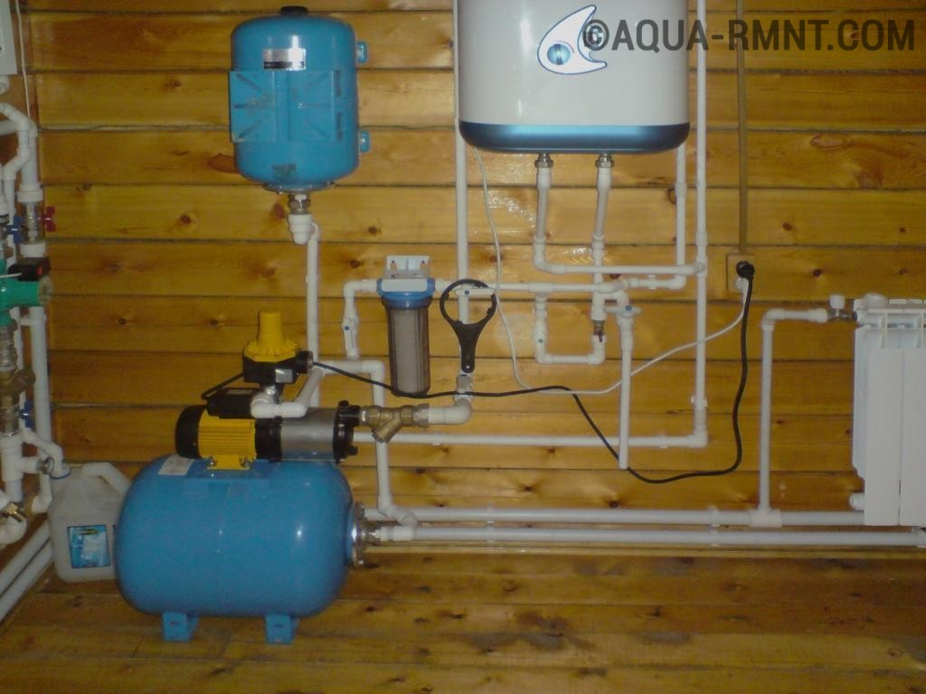 Почему не запускается система водоснабжения дома