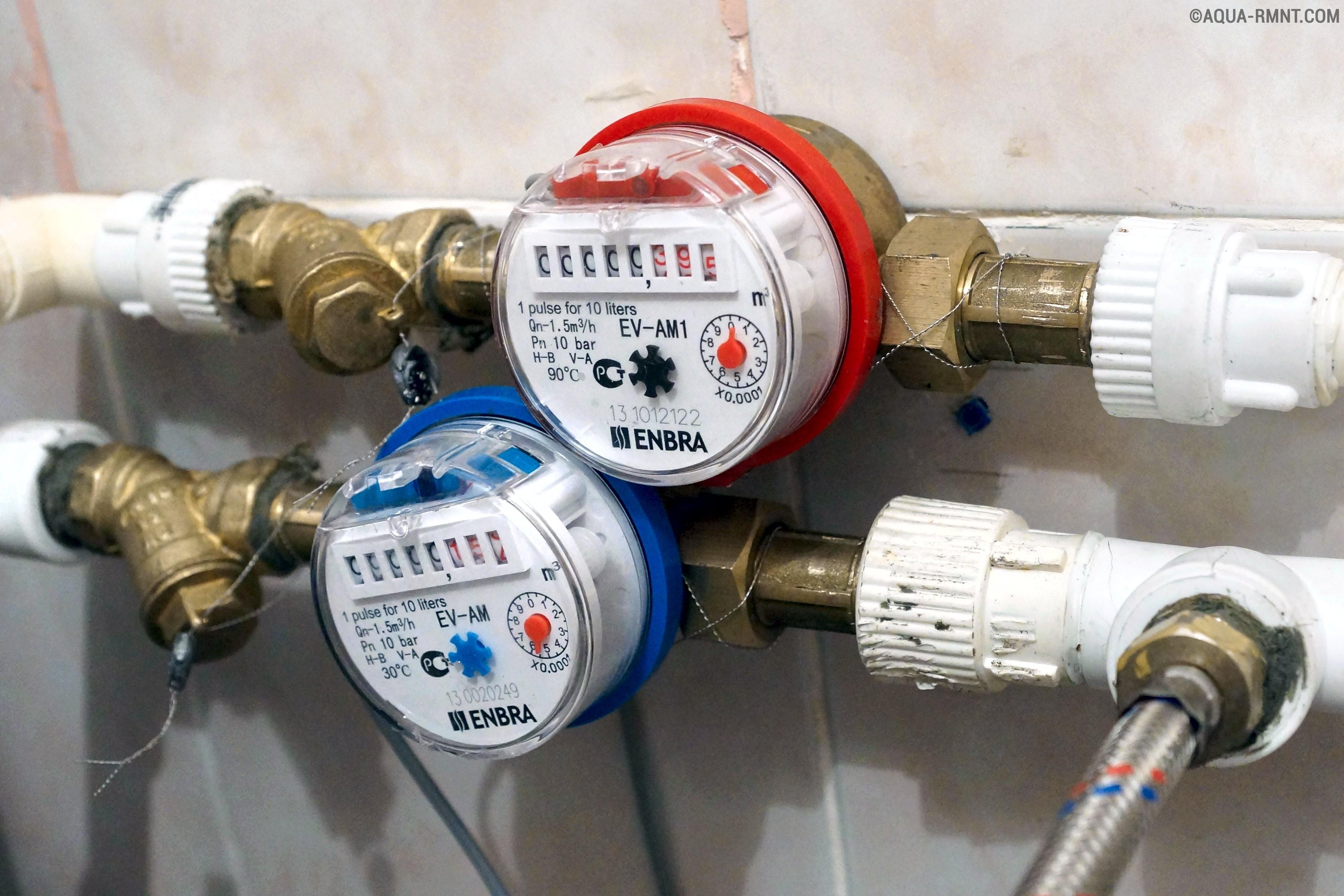 Можно ли самостоятельно устанавливать счётчик горячей воды?