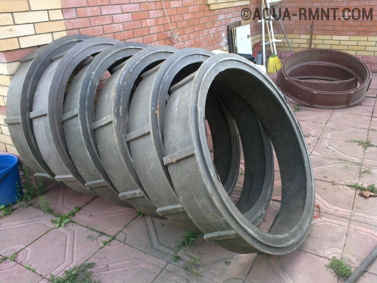 Можно ли использовать полимерпесчаные кольца для стоительства выгребной ямы