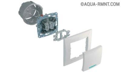 Схема сборки выключателя