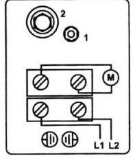 Электрическая схема подключения реле