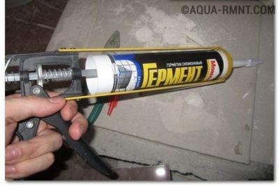 Герметик для крепления вентилятора