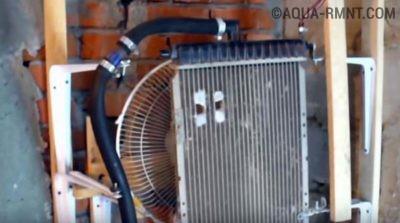 Охладитель без корпуса