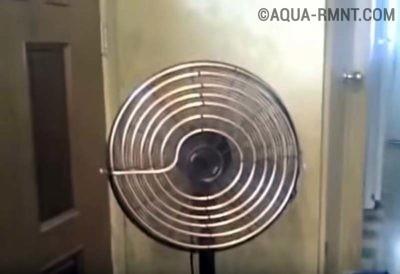 Вентилятор с медной трубкой
