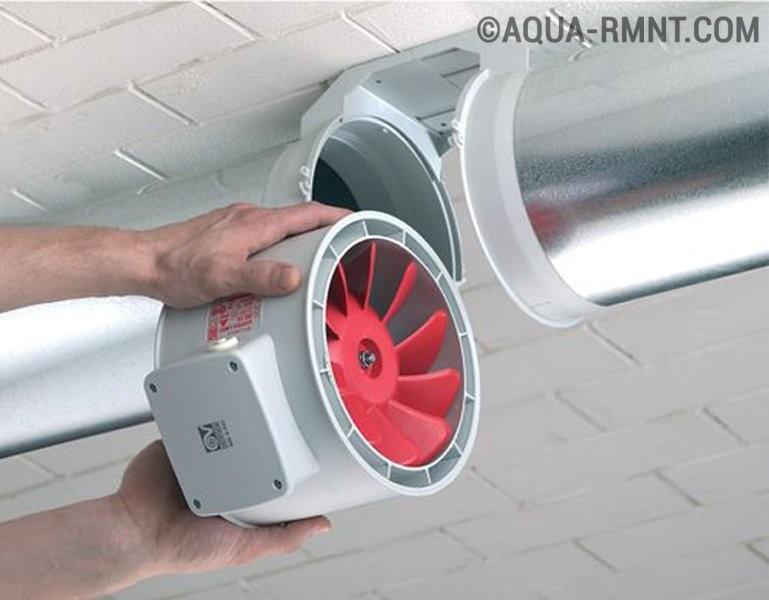 Вентилятор для вытяжки своими руками в гараже фото 858