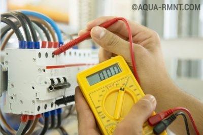 Испытание проводки перед вводом в экплуатацию