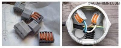 Клеммники для соединения проводки