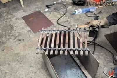 Колосниковая решётка из металла