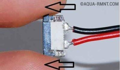 Коннектор с проводами