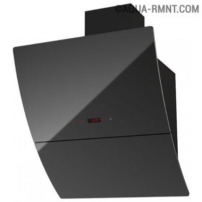 Наклонна проточная вытяжка Kronasteel CELESTA 600 black sensor
