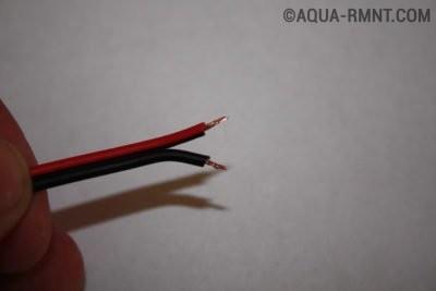 Провода для спайки светодиодных лент