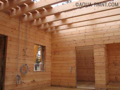 Проводка в деревянно доме