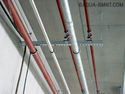 Проводка в стальных трубах