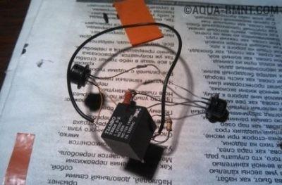 Реле с проводами