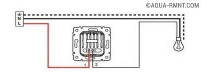 Схема подключения диммера к светодиодной лампе