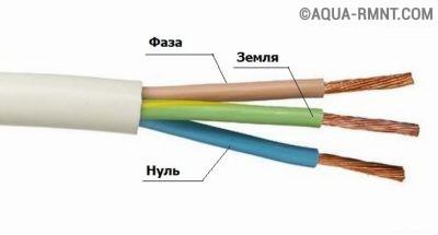 Трёхпроводной кабель