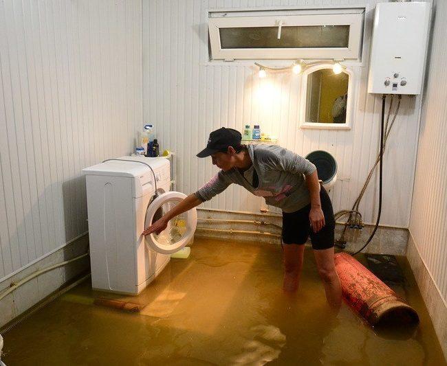 Потоп в ванной