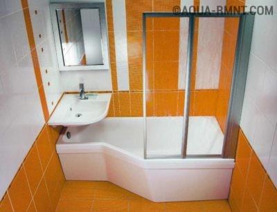 Выбор ванны в маленькую ванную комнату в панельной хрущевке