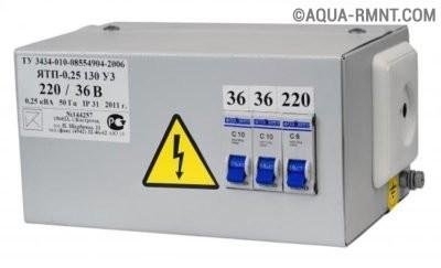 Понижающий трансформатор для электросети