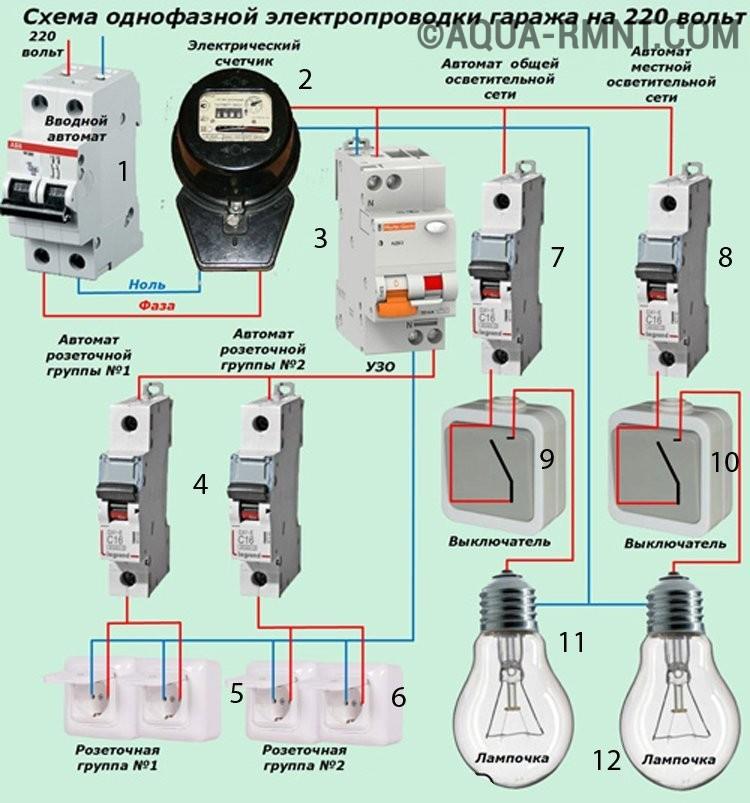 Схема подключения электропроводки в частном доме своими руками 80