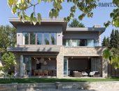 Загородный летний дом