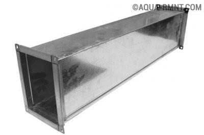Короб из оцинкованной стали