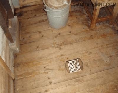 Вентилируемый пол в бане