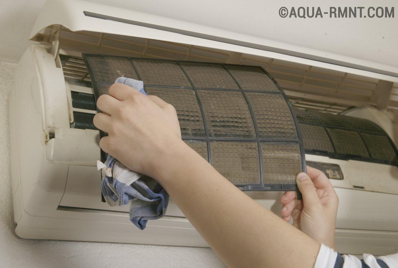 Как помыть кондиционер в домашних условиях