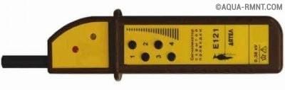 Схема детектор проводки на катушке