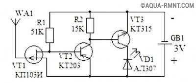 Сигнализатор обрыва провода