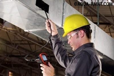 Измерение параметров системы вентиляции