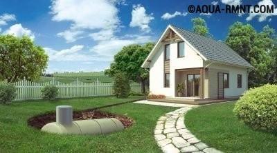 Газгольдерная установка для частного дома