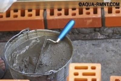 Цементная смесь для кладки печи