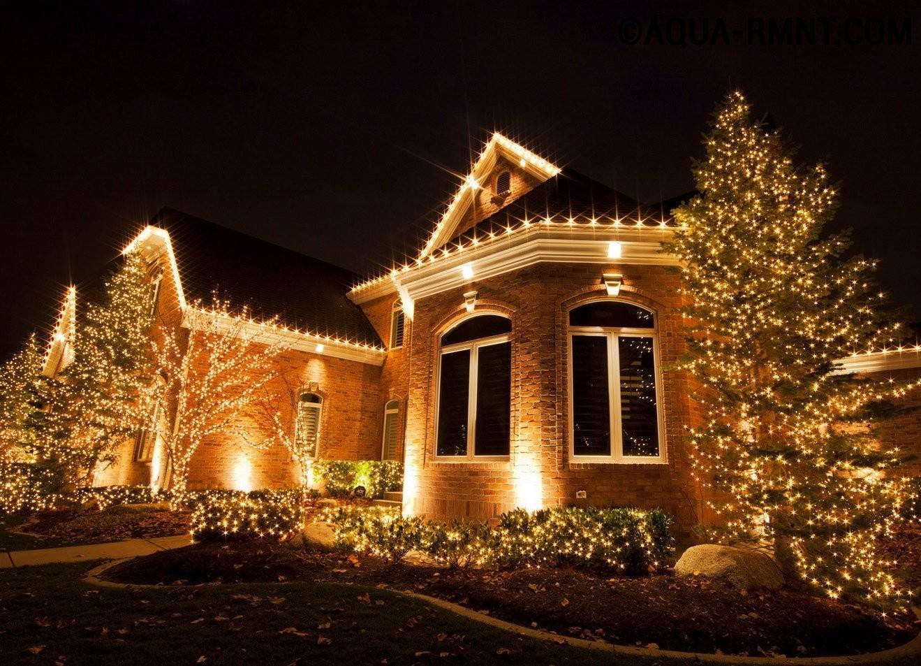 Особенности декоративного освещения загородного дома