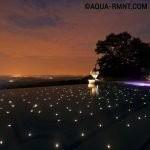Контурное освещение бассейна