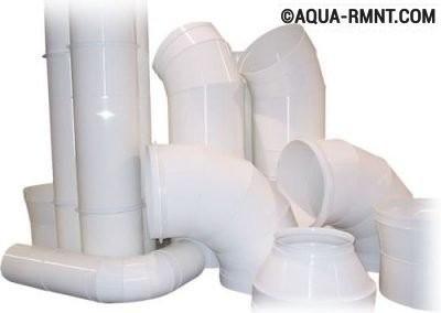 Пластиковые трубы для вытяжки