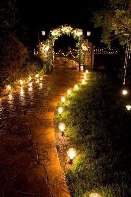 Подсветка дорожки
