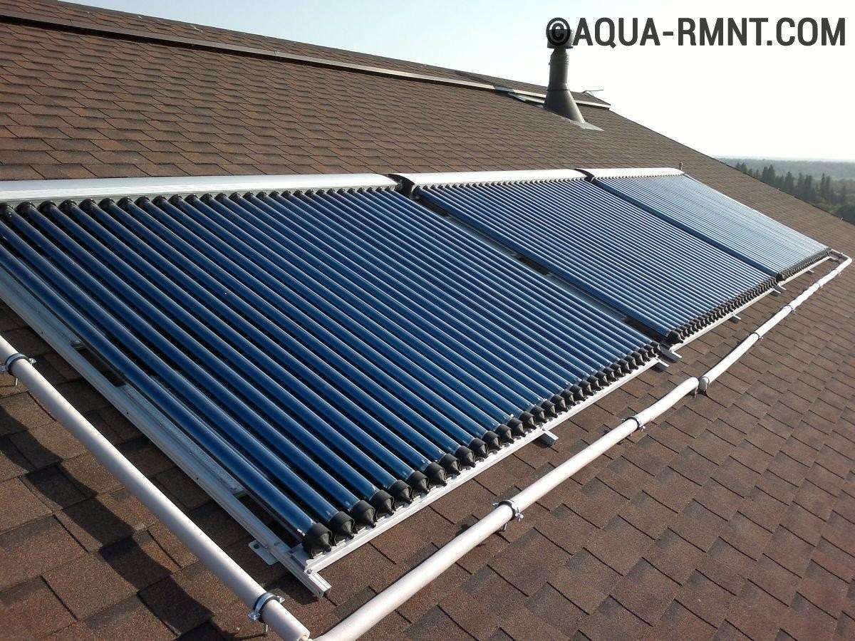 Солнечный водонагреватель: постройкаустановки своими руками