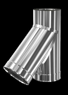 Тройник для металлического дымохода