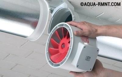 Установка электрооборудования на вентиляционные трубы