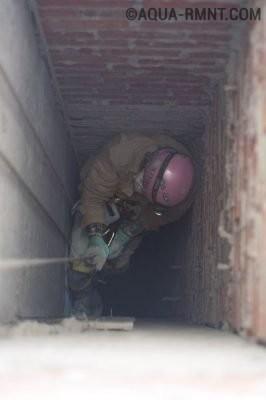 Вентиляционная шахта жилого дома