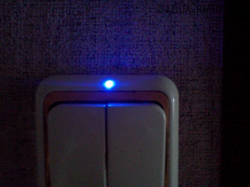 Монтаж и ремонт выключателя с подсветкой